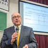 "Cory Borgeson, President and Chief Executive Officer for Golden Valley Electric Association, addressed the Fairbanks community with a presentation on energy issues Jan. 10 in Schaible Auditorium. Borgeson is also an adjunct professor with UAF's School of Management teaching a class on business law each semester.  <div class=""ss-paypal-button"">Filename: LIF-13-3694-29.jpg</div><div class=""ss-paypal-button-end"" style=""""></div>"