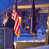 "U.S. Army veteran and current UAF student Maire Hunt takes an early 15-minute shift reading names of American service men and women killed during the wars in Iraq and Afghanistan during a Veterans' Day memorial ceremony in Constitution Park.  <div class=""ss-paypal-button"">Filename: LIF-11-3216-04.jpg</div><div class=""ss-paypal-button-end"" style=""""></div>"