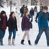 "Students make their way across campus after a big snow fall.  <div class=""ss-paypal-button"">Filename: LIF-12-3319-52.jpg</div><div class=""ss-paypal-button-end"" style=""""></div>"