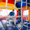 "Students enjoy a variety of inflatable toys and games during the 2012 Spring Fest field day activities.  <div class=""ss-paypal-button"">Filename: LIF-12-3384-90.jpg</div><div class=""ss-paypal-button-end"" style=""""></div>"