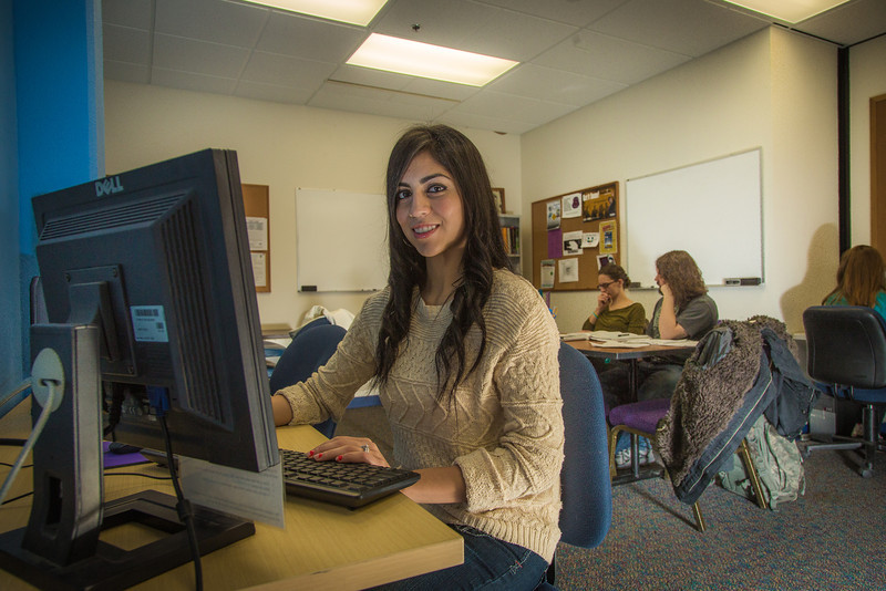"""Ana Aguirre is a junior biology major at UAF. She has benifited from her association with Student Support Services in the Gruening Building.  <div class=""""ss-paypal-button"""">Filename: LIF-13-3967-156.jpg</div><div class=""""ss-paypal-button-end"""" style=""""""""></div>"""