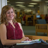 "Music education major Anna Polum finds a comfortable spot to study in the Rasmuson Library.  <div class=""ss-paypal-button"">Filename: LIF-13-3950-78.jpg</div><div class=""ss-paypal-button-end"" style=""""></div>"