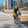 "Students enjoy some spring sunshine and warm temperatures in late April on the Fairbanks campus.  <div class=""ss-paypal-button"">Filename: LIF-16-4877-19.jpg</div><div class=""ss-paypal-button-end""></div>"