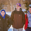 "Colton Anderson, left, Mike Stepo, center and Anthony Reese walk to class after having lunch in the Commons on the first day of classes in the spring 2013 semester.  <div class=""ss-paypal-button"">Filename: LIF-13-3699-57.jpg</div><div class=""ss-paypal-button-end"" style=""""></div>"