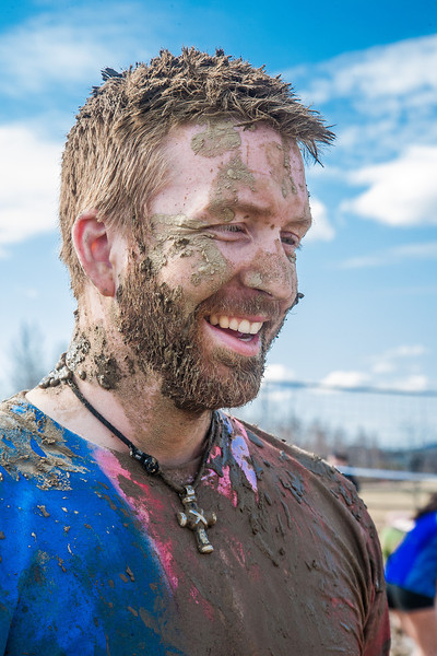 """Cyrus Bee  is all smiles after a round of mud volleyball during Spring Fest.  <div class=""""ss-paypal-button"""">Filename: LIF-12-3376-197.jpg</div><div class=""""ss-paypal-button-end"""" style=""""""""></div>"""