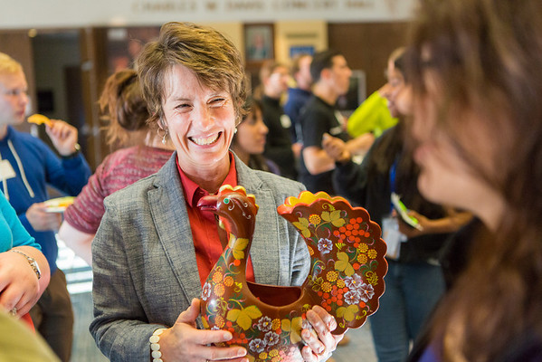 """UAF International Programs & Initiatives Director Donna Anger collects tickets for a drawing at the International Student Mixer event.  <div class=""""ss-paypal-button"""">Filename: LIF-13-3927-75.jpg</div><div class=""""ss-paypal-button-end"""" style=""""""""></div>"""