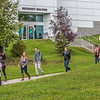 "Students leave the Reichardt Building after class on the first day of the 2013 fall semester.  <div class=""ss-paypal-button"">Filename: LIF-13-3928-48.jpg</div><div class=""ss-paypal-button-end"" style=""""></div>"