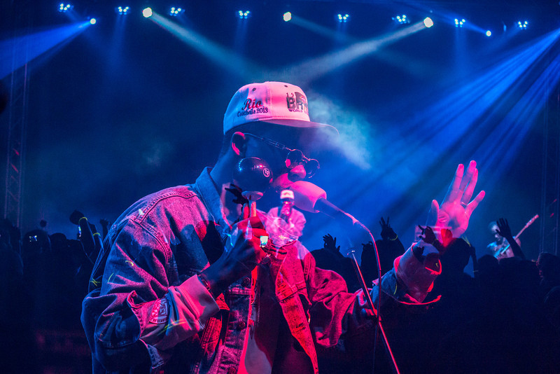 """Theophilus London performs for UAF at a concert inside the Student Recreation Center during the 2013 Spring Fest activities.  <div class=""""ss-paypal-button"""">Filename: LIF-13-3808-138.jpg</div><div class=""""ss-paypal-button-end"""" style=""""""""></div>"""