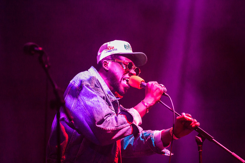 """Theophilus London performs for UAF at a concert inside the Student Recreation Center during the 2013 Spring Fest activities.  <div class=""""ss-paypal-button"""">Filename: LIF-13-3808-63.jpg</div><div class=""""ss-paypal-button-end"""" style=""""""""></div>"""