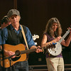 "The Fairbanks duo of Pat Fitzgerald, left, and Robin Dale Ford, center, performed along with backup musicians during one of two live recorded performances of the nationally broadcast radio show Mountain Stage in the Davis Concert Hall Aug. 17 and 18. The shows were sponsored by UAF Summer Sessions and KUAC-FM.  <div class=""ss-paypal-button"">Filename: LIF-12-3502-314.jpg</div><div class=""ss-paypal-button-end"" style=""""></div>"