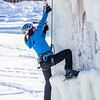 "Students take advantage of nice spring weather to try out their climbing skills on the new ice wall near the SRC.  <div class=""ss-paypal-button"">Filename: LIF-12-3321-091.jpg</div><div class=""ss-paypal-button-end"" style=""""></div>"