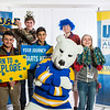 "Future UAF students and family members pose with the Nanook mascot during Inside Out.  <div class=""ss-paypal-button"">Filename: LIF-16-4839-35.jpg</div><div class=""ss-paypal-button-end""></div>"