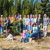 "Staff, faculty and community members gathered on UAF's West Ridge to plant trees in honor of Arbor Day.  <div class=""ss-paypal-button"">Filename: LIF-12-3415-25.jpg</div><div class=""ss-paypal-button-end"" style=""""></div>"
