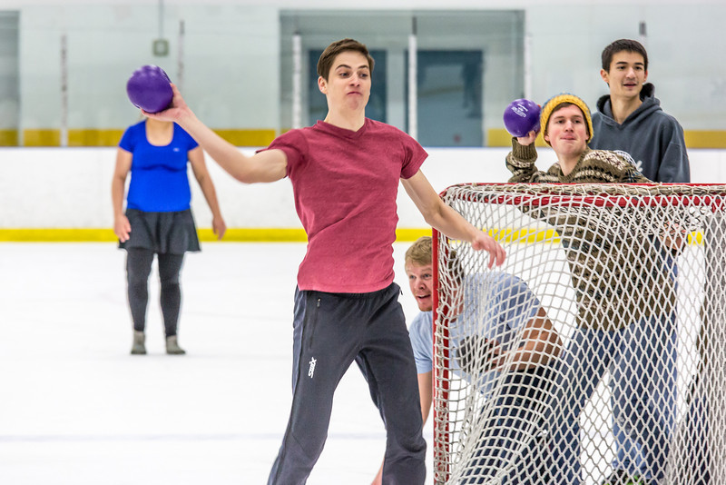 """Photos taken during the ice dodgeball competition at the Patty Ice Arena during the 2014 Nanook Winter Carnival Feb. 22.  <div class=""""ss-paypal-button"""">Filename: LIF-14-4087-81.jpg</div><div class=""""ss-paypal-button-end"""" style=""""""""></div>"""