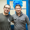 "Henrique Fiche, left, and Eduaurdo Lobo, exchange students studying petroleum engineering at UAF from Brazil, got together during an open house at the International Programs office in the Eielson Building.  <div class=""ss-paypal-button"">Filename: LIF-13-3698-12.jpg</div><div class=""ss-paypal-button-end"" style=""""></div>"