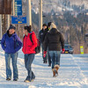 "Students walk along Yukon Drive on the first day of classes in the spring 2013 semester.  <div class=""ss-paypal-button"">Filename: LIF-13-3699-14.jpg</div><div class=""ss-paypal-button-end"" style=""""></div>"