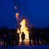 "Participants from the 2013 USSA Junior National Cross Country Ski Championships gather around a bonfire after the awards ceremony at the Student Recreation Center March 16, 2013.  <div class=""ss-paypal-button"">Filename: LIF-13-3760-38.jpg</div><div class=""ss-paypal-button-end"" style=""""></div>"