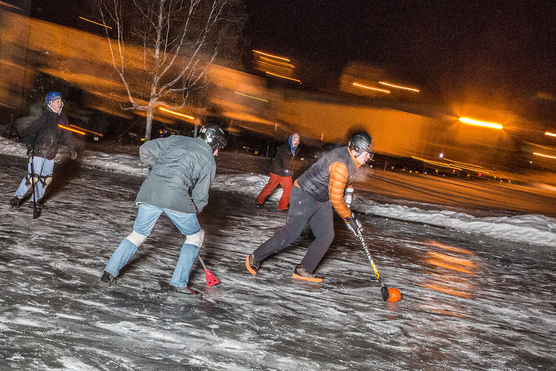 "Outdoor broomball, played on the ice in front of the SRC, is a popular intramural sport at UAF.  <div class=""ss-paypal-button"">Filename: LIF-12-3652-52.jpg</div><div class=""ss-paypal-button-end"" style=""""></div>"