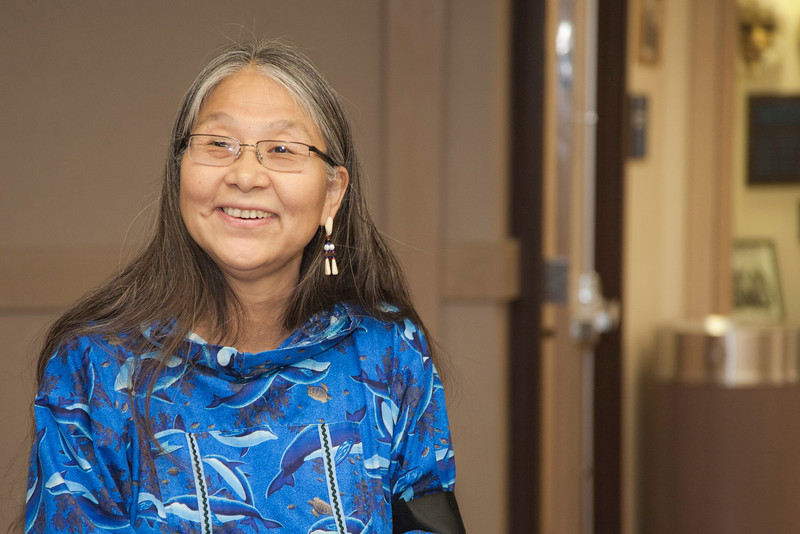 """Associate Professor Theresa John speaks at Kay Thomas's retirement party.  <div class=""""ss-paypal-button"""">Filename: LIF-12-3271-17.jpg</div><div class=""""ss-paypal-button-end"""" style=""""""""></div>"""