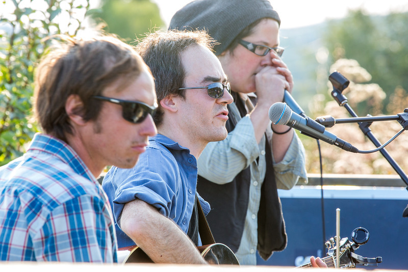 """The local Fairbanks band Zingaro Roots performed before an appreciative audience during one of the Concert in the Garden events sponsored by UAF Summer Sessions.  <div class=""""ss-paypal-button"""">Filename: LIF-12-3489-023.jpg</div><div class=""""ss-paypal-button-end"""" style=""""""""></div>"""