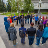 "UAF Orientation Leaders engage in team building exercises before students arrive on campus before the start of the fall 2015 semester.  <div class=""ss-paypal-button"">Filename: LIF-15-4635-034.jpg</div><div class=""ss-paypal-button-end""></div>"