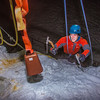 "A climber approaches the top of the tower during the ice climbing competition, offered as part of the 2014 UAF Winter Carnival.  <div class=""ss-paypal-button"">Filename: LIF-14-4084-142.jpg</div><div class=""ss-paypal-button-end"" style=""""></div>"
