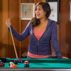 "Students unwind over a game of pool in the Wood Center Pub on the Fairbanks campus. (Note: Taken as part of commercial shoot with Nerland Agency -- use with discretion!)  <div class=""ss-paypal-button"">Filename: LIF-12-3563-022.jpg</div><div class=""ss-paypal-button-end"" style=""""></div>"