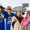 "Students pose in the UAF Facebook photobooth during a back-to-school orientation party in the Wood Center.  <div class=""ss-paypal-button"">Filename: LIF-12-3517-35.jpg</div><div class=""ss-paypal-button-end"" style=""""></div>"