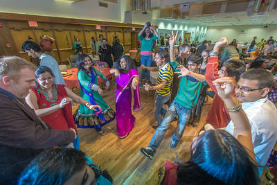 Members of UAF's Indian community celebrate the Diwali Festival in the Wood Center ballroom.  Filename: LIF-13-3992-159.jpg