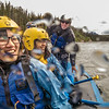 "International students Ko-Fan Lu, front, and Chien-An Peng joined UAF Outdoor Adventures recreation manager Sam Braband and others on a raft trip down the Nenana River in June, 2014.  <div class=""ss-paypal-button"">Filename: OUT-14-4211-089.jpg</div><div class=""ss-paypal-button-end""></div>"