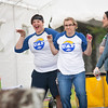 "Ashley Bowen and Mary-Clare Cable compete in a dance off with other orientation leaders across the tent during UAF Orientation's Move-In Day Sunday, August 26, 2012 in front of the Moore, Bartlett, and Skarland dormitory complex.  <div class=""ss-paypal-button"">Filename: LIF-12-3511-184.jpg</div><div class=""ss-paypal-button-end"" style=""""></div>"