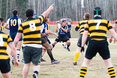 The UAF rugby club played an exhibition game as part of the SpringFest activities on the Fairbanks campus.  Filename: LIF-12-3384-134.jpg