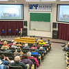 "Cory Borgeson, President and Chief Executive Officer for Golden Valley Electric Association, addressed the Fairbanks community with a presentation on energy issues Jan. 10 in Schaible Auditorium. Borgeson is also an adjunct professor with UAF's School of Management teaching a class on business law each semester.  <div class=""ss-paypal-button"">Filename: LIF-13-3694-45.jpg</div><div class=""ss-paypal-button-end"" style=""""></div>"