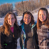 "Undergraduates Sarah Riopelle, left, Rise Crelli, center, and Annalisa Taylor find time between classes to have fun on the ice rink in front of the SRC on a sunny January afternoon.  <div class=""ss-paypal-button"">Filename: LIF-15-4428-77.jpg</div><div class=""ss-paypal-button-end""></div>"