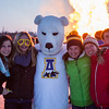 "Participants from the 2013 USSA Junior National Cross Country Ski Championships pose for a photo at a bonfire after the awards ceremony at the Student Recreation Center March 16, 2013.  <div class=""ss-paypal-button"">Filename: LIF-13-3760-12.jpg</div><div class=""ss-paypal-button-end"" style=""""></div>"