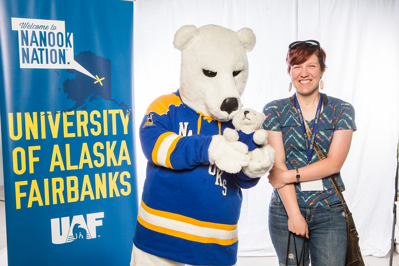 "Prospective students take a portrait during the summer 2016 Inside Out event hosted by the UAF's Office of Admissions and the Registrar.  <div class=""ss-paypal-button"">Filename: LIF-16-4926-24.jpg</div><div class=""ss-paypal-button-end""></div>"