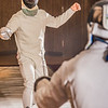 "Joel Juenke spars with an opponent during a tournament held by members of the UAF Fencing Club Oct. 30 in the Wood Center ballroom.  <div class=""ss-paypal-button"">Filename: LIF-14-4365-15.jpg</div><div class=""ss-paypal-button-end""></div>"
