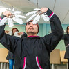 "Edward Wassilie from Kasigluk and other members of the Kuskoskim Campus student dance group practice for their upcoming appearance at the Cama-i Dance Festival in Bethel in the campus conference room on March 30, 2016.  <div class=""ss-paypal-button"">Filename: LIF-16-4859-321.jpg</div><div class=""ss-paypal-button-end""></div>"