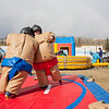 "Ashley Bartolowits (left) and her sister Jennifer (right) compete in sumo suits at the Spring Fest Field Day.  <div class=""ss-paypal-button"">Filename: LIF-12-3381-9.jpg</div><div class=""ss-paypal-button-end"" style=""""></div>"