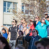 """People react to the 2016 SpringFest watermelon drop on Constitution Park.  <div class=""""ss-paypal-button"""">Filename: LIF-16-4879-160.jpg</div><div class=""""ss-paypal-button-end""""></div>"""