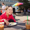 "Danel Mason has lunch at the University of Alaska Campus during the Kick-Off BBQ of 2012 Spring Fest activities.  <div class=""ss-paypal-button"">Filename: LIF-12-3374-3.jpg</div><div class=""ss-paypal-button-end"" style=""""></div>"