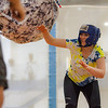 "Nina Ruckhaus battles it out with her friends during the 2013 Spring Fest field day activities at the Student Rec Center.  <div class=""ss-paypal-button"">Filename: LIF-13-3803-126.jpg</div><div class=""ss-paypal-button-end"" style=""""></div>"