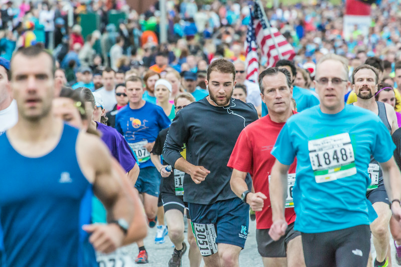 """Runners hit the road at the start of the annual Midnight Sun Run, which starts on the UAF campus every year on the Saturday nearest the summer solstice.  <div class=""""ss-paypal-button"""">Filename: LIF-14-4220-153.jpg</div><div class=""""ss-paypal-button-end""""></div>"""