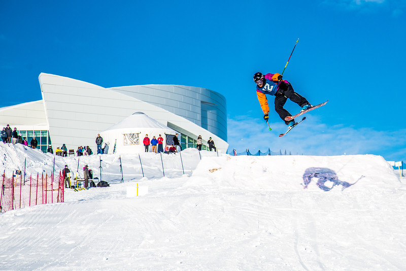 "UAF students and local high schoolers signed up to compete in the inaugural si and snowboard jump competition on the new terrain park in March, 2013.  <div class=""ss-paypal-button"">Filename: LIF-13-3750-265.jpg</div><div class=""ss-paypal-button-end"" style=""""></div>"