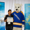 "Prospective students pose with the UAF mascot during the Fall 2015 Inside Out event hosted by UAF's office of admissions and the registrar.  <div class=""ss-paypal-button"">Filename: LIF-14-4353-69.jpg</div><div class=""ss-paypal-button-end""></div>"