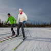 """UAF students Ian Wilkinson and Raphaela Sieber enjoy a morning loop around the campus ski trails.  <div class=""""ss-paypal-button"""">Filename: LIF-12-3348-54.jpg</div><div class=""""ss-paypal-button-end"""" style=""""""""></div>"""