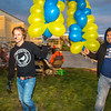 "Jordan Lichtenberger, left, and Juan Cruz move balloons during festivities surrounding the Starvation Gulch celebration in front of the Patty Center.  <div class=""ss-paypal-button"">Filename: LIF-12-3570-150.jpg</div><div class=""ss-paypal-button-end"" style=""""></div>"