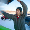 """Brandon Hoover loads aluminum cans from the MBS residence hall complex into the campus recycle bins.  <div class=""""ss-paypal-button"""">Filename: LIF-11-3210-09.jpg</div><div class=""""ss-paypal-button-end"""" style=""""""""></div>"""