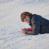 "Jimmy Donohue spends some quality time on the UAF sledding hill on a nice February afternoon.  <div class=""ss-paypal-button"">Filename: LIF-12-3290-44.jpg</div><div class=""ss-paypal-button-end"" style=""""></div>"