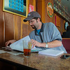 "Matt Chacho takes advantage of some time in the Wood Center Pub to prep for an upcoming test in his calculus class.  <div class=""ss-paypal-button"">Filename: LIF-11-3217-169.jpg</div><div class=""ss-paypal-button-end"" style=""""></div>"